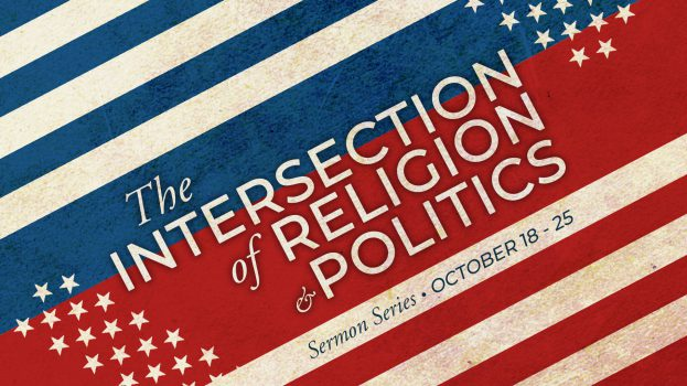 The Intersection of Religion and Politics - slide - promo no web